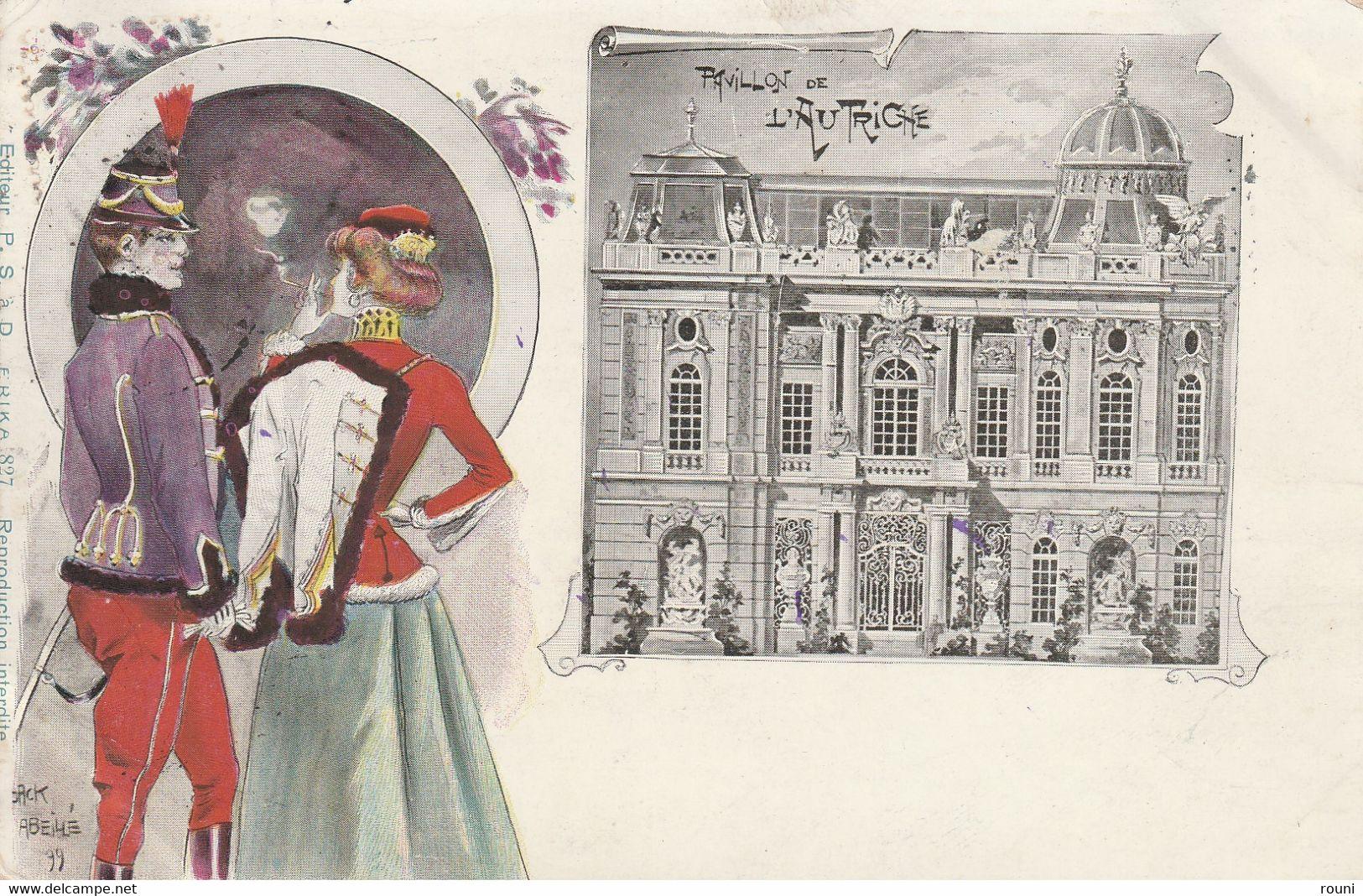 Illustration De Jack Abeillé - Pavillon De L'Autriche - Exposition - Mostre