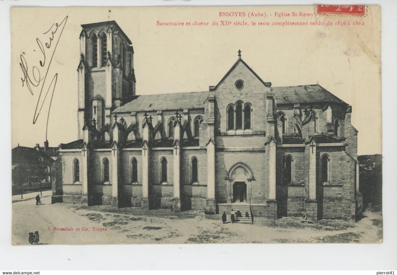 ESSOYES - Eglise Saint Rémy - Essoyes