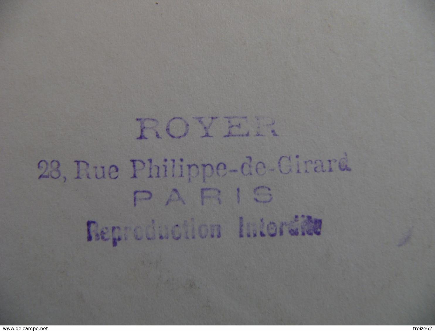 Photo Originale Les Deux Bourgeoises En Carrosse Par Royer Paris - Personnes Anonymes