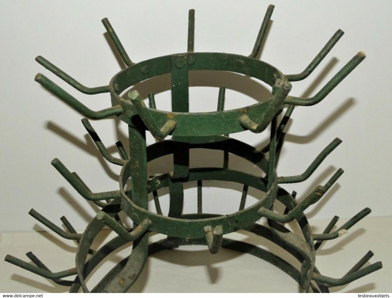ANCIEN EGOUTTOIR A BOUTEILLES HERISSON DE CAVE CHAI DECO BAR CUISINE 51 PICS DECO CAVE BISTROT COMPTOIR - Unclassified