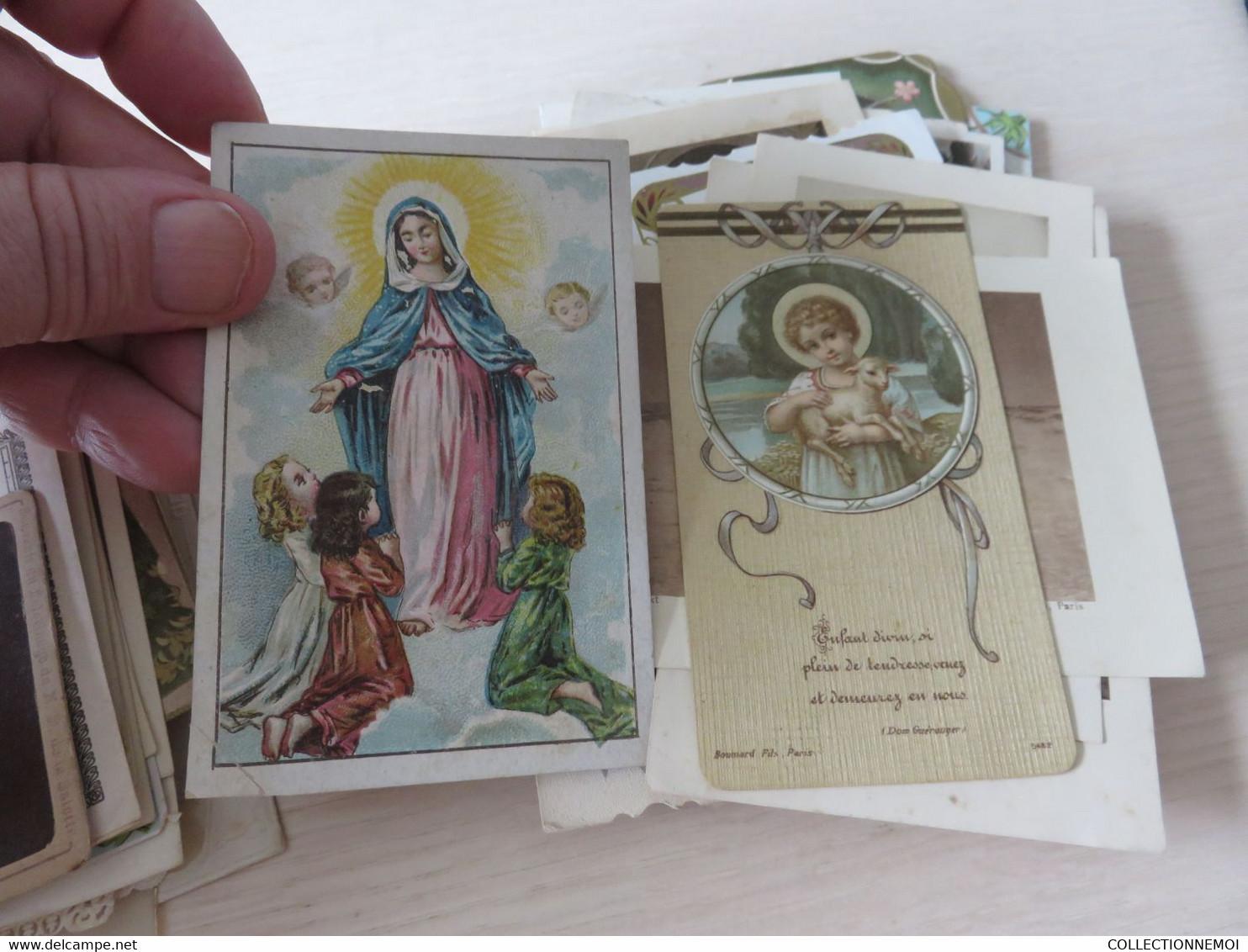 Joli Lot D'images Religieuses Diverses - Devotion Images