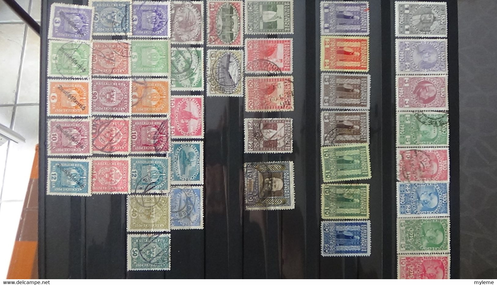 V59 Collection Autriche, Occupation, Fins De Catalogue ... Majorité Oblitérés A Saisir !!! - Collections (with Albums)
