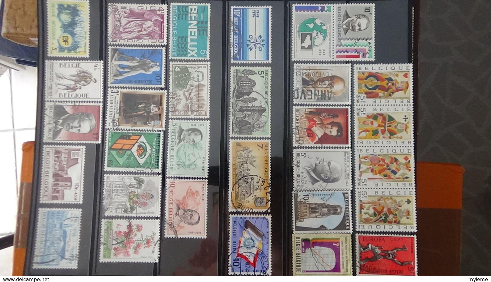 V63 Collection De Belgique **, * Et Oblitérés Dont Fins De Catalogues ...  A Saisir !!! - Collections (with Albums)
