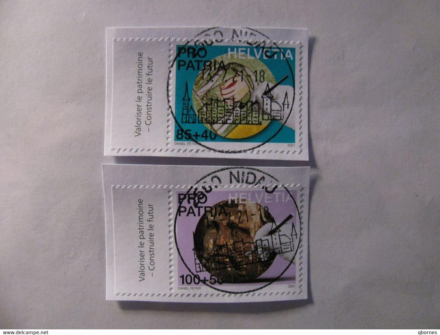 Schweiz Modern Vollstempel PP Satz - Used Stamps