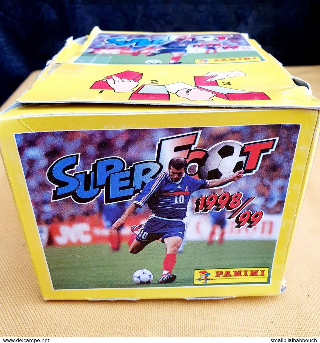 Boite Panini Super Foot  98/99 - French Edition