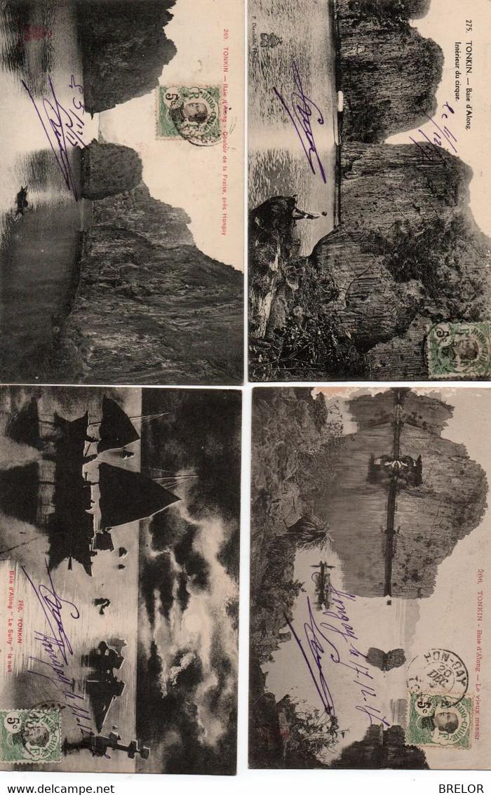 TONKIN-HONGAY-BAIE D'ALONG-LOT DE 24 CARTES-AVANT 1920 - Vietnam
