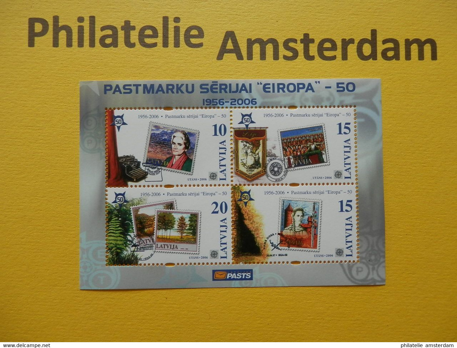 START 1 EURO: EUROPA CEPT: The 50th Anniversary Of The First Europa Issue (1956-2006): MNH COLLECTION - Verzamelingen (zonder Album)
