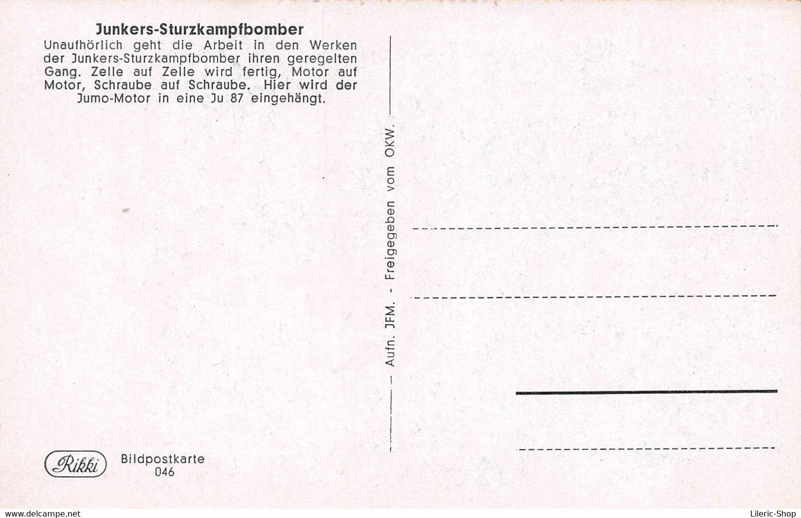 WW2 Dt-Reich Propagandakarten - JUNKERS- STURZKAMPFBOMBER JU88 JU87 10 Bild - Postkarten Mit Erlauterungen ( ͡♥͜ʖ ͡♥) ♥ - War 1939-45