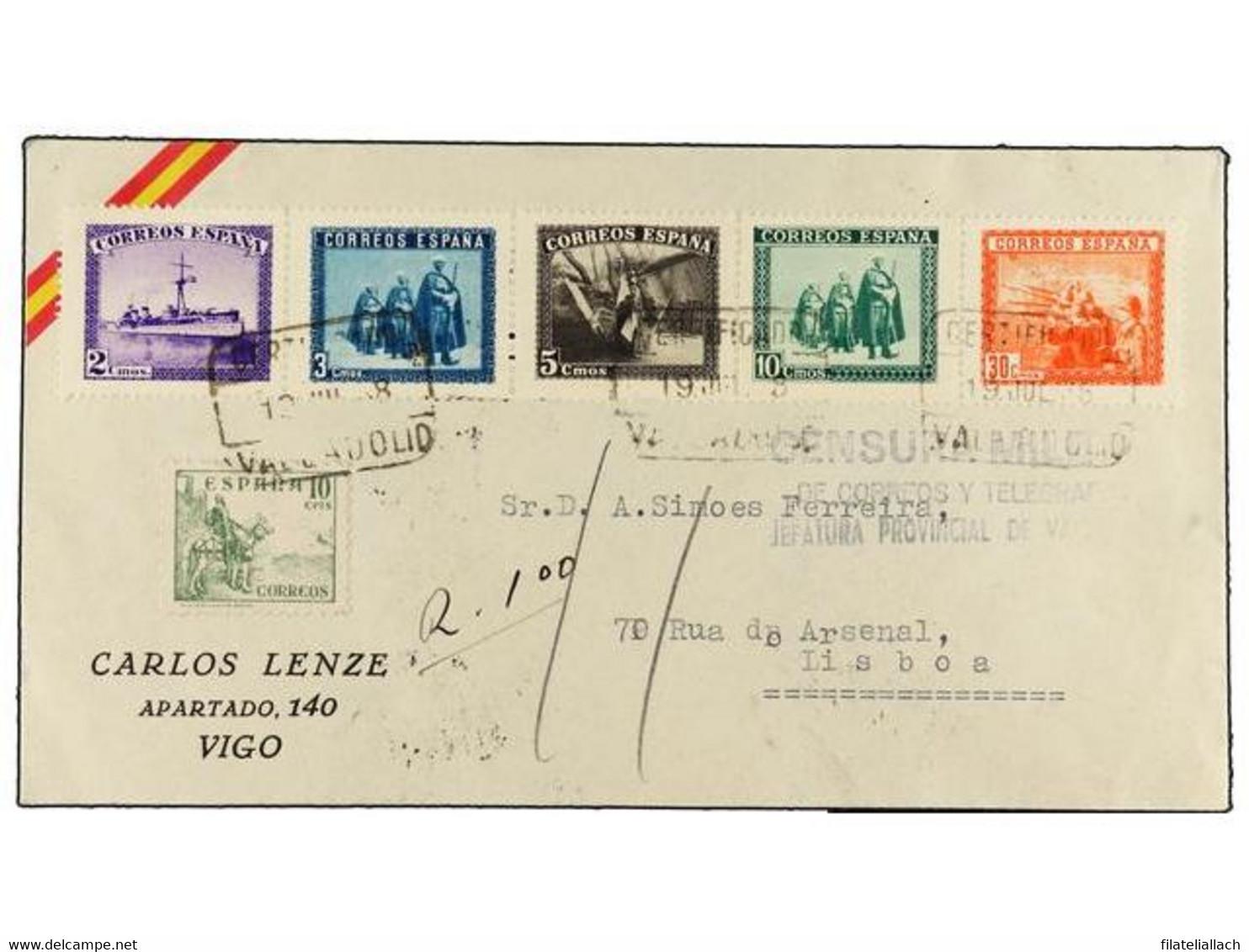 SPAIN: ESTADO ESPAÑOL 1936-1949 - Sin Clasificación