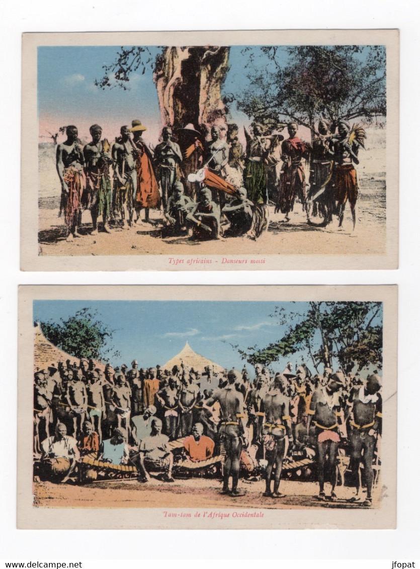 BURKINA FASSO - Lot De Deux Cartes - Burkina Faso