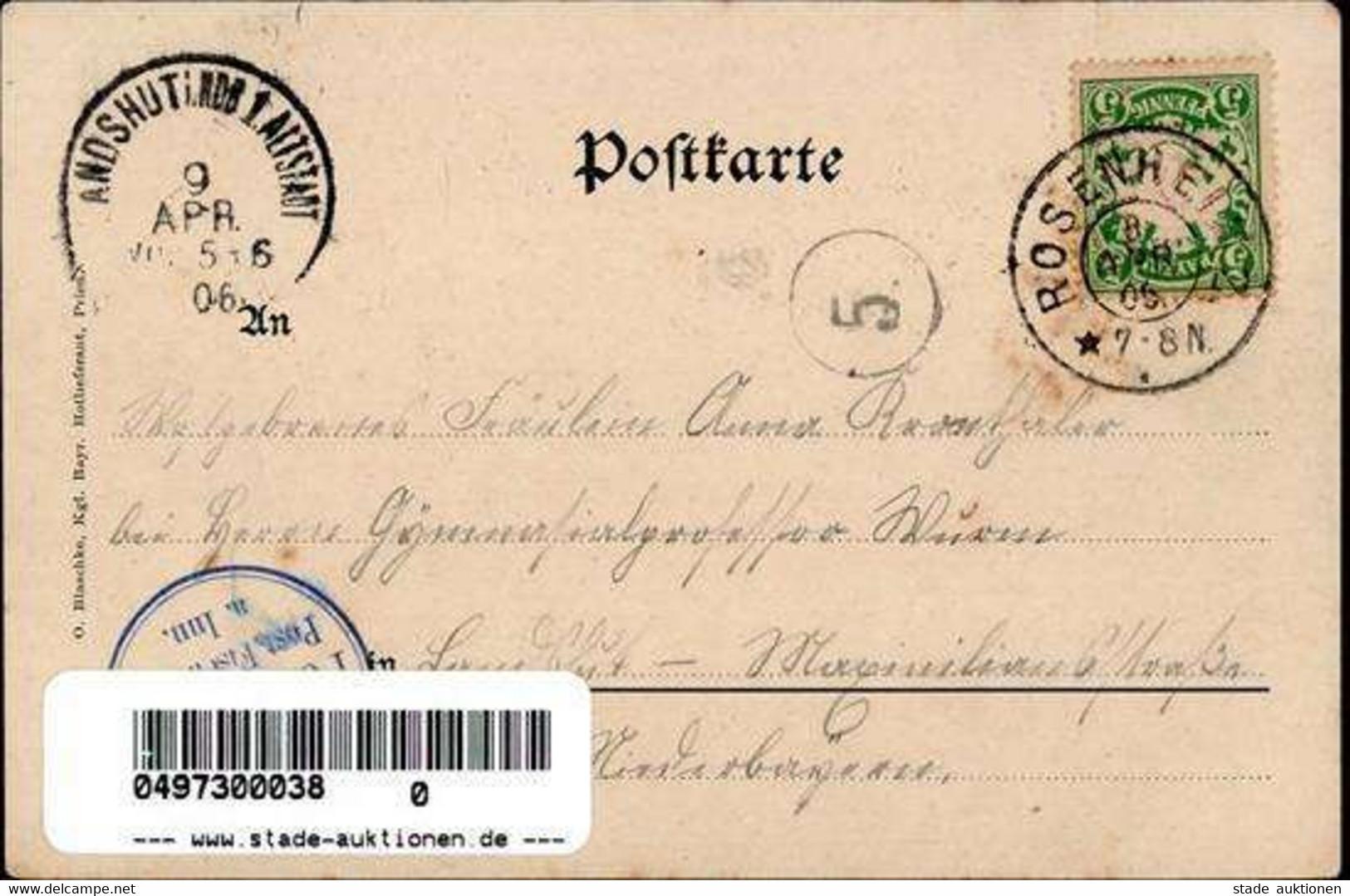 Fischbach (8201) Gruss Vom Petersberg 1906 I-II Montagnes - Sin Clasificación