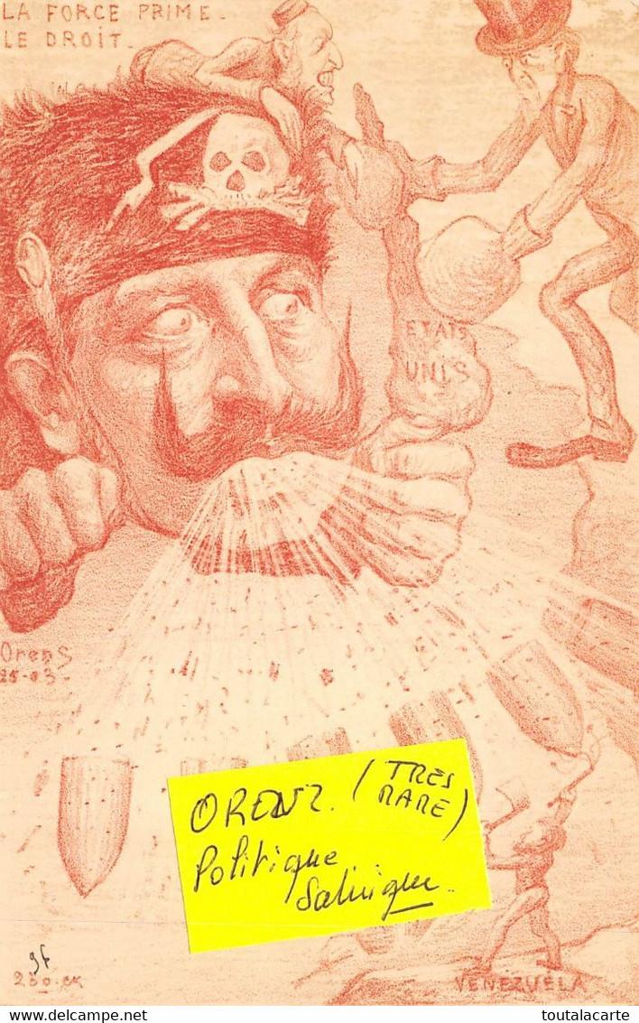 CPA  ILLUSTRATEUR ORENS LA FORCE PRIME LE DROIT    Rare  Voir Mes Autres Cartes D'illustrateurs - Orens