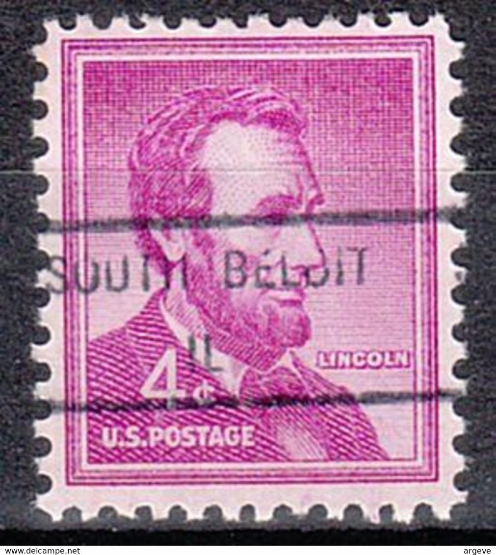 USA Precancel Vorausentwertungen Preos, Locals Illinois, South Beloit 846 - Precancels