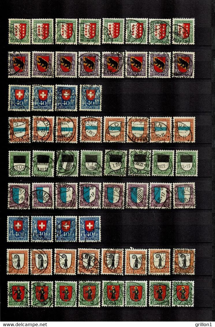 Gros Lot De Timbres Pro Ju Neuf** Sans Charnières 1912-1963 Et Oblitérés 1913-1991 - Unused Stamps
