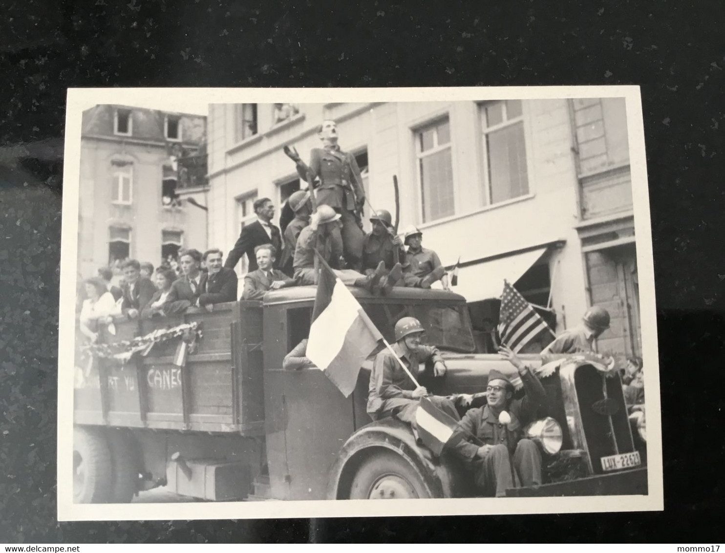 Luxembourg Photo Camion Soldats - Other