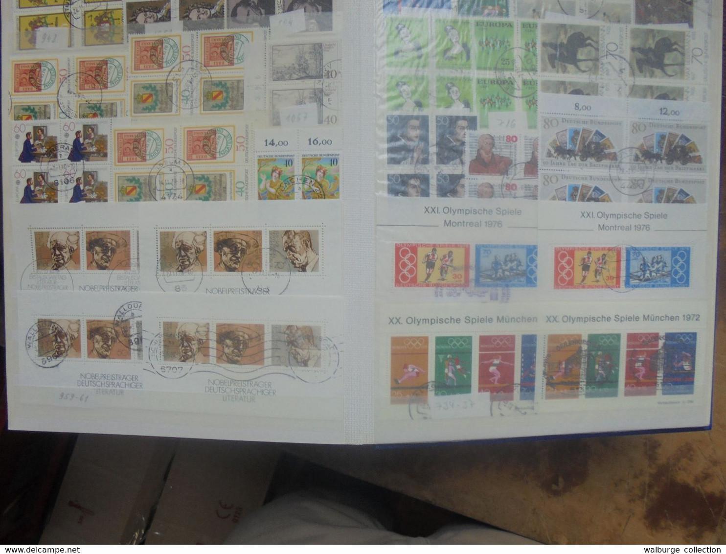 +++République Fédérale 1949-2017+++COTE 26480 EURO !!!+++19 ALBUMS+++28 KILOS (LIRE DESCRIPTION+FRAIS D'ENVOIS) - Collections