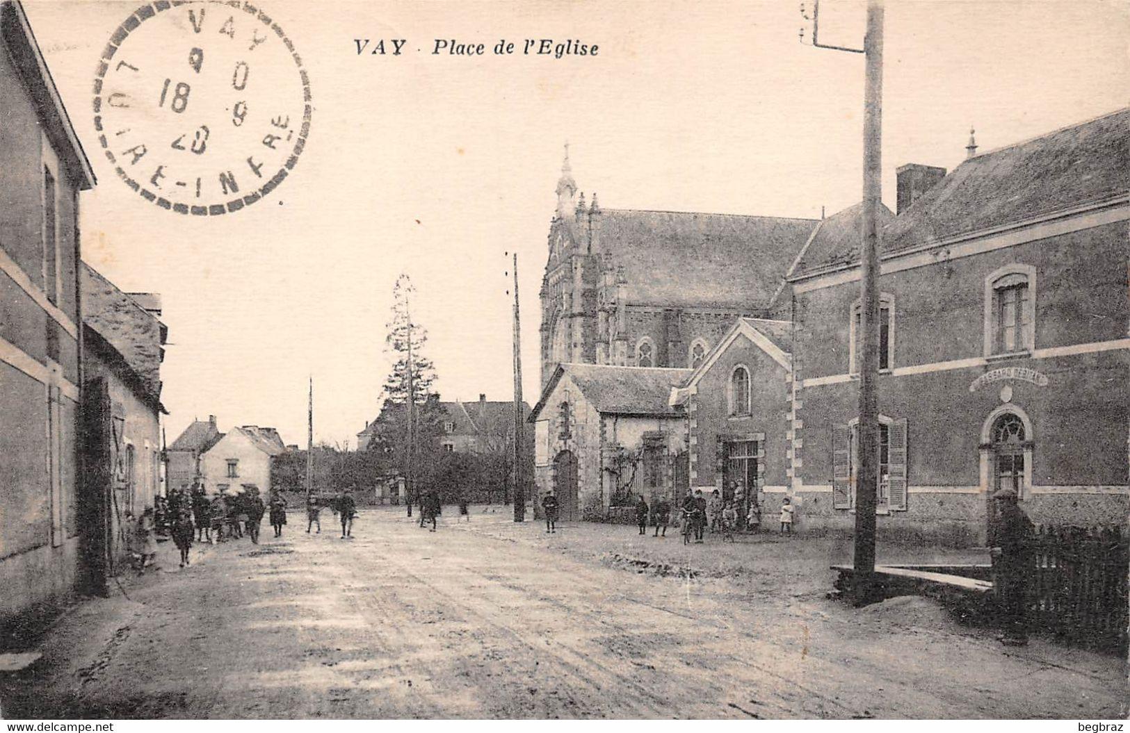VAY     PLACE DE L EGLISE - Other Municipalities