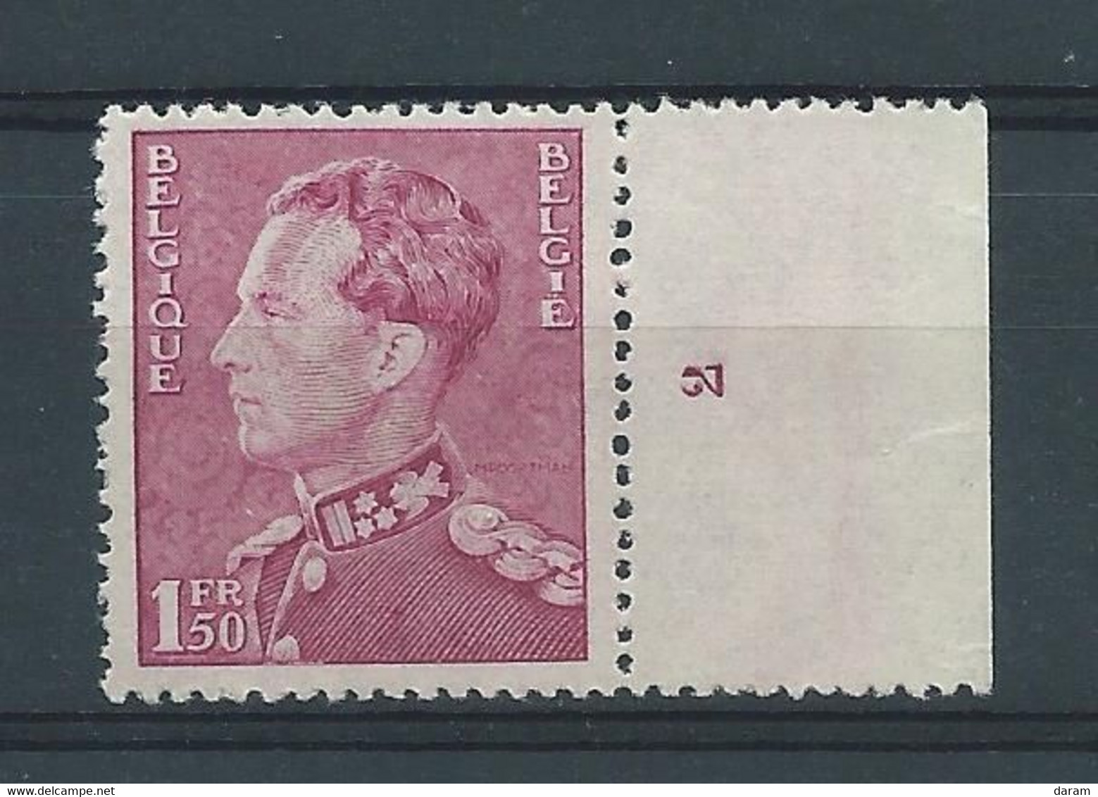 N° 429a**  AVEC N° DE PLANCHE 2 - ....-1960