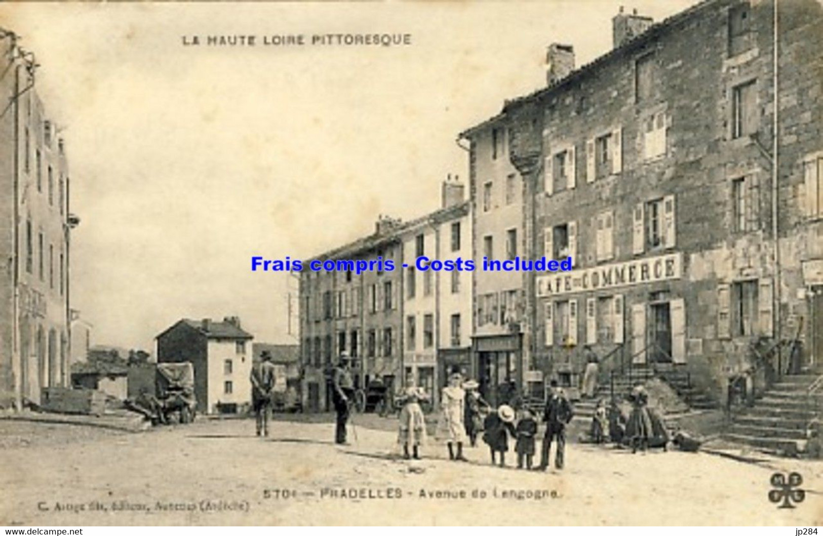 43 - Pradelles - Avenue De Langogne - Andere Gemeenten