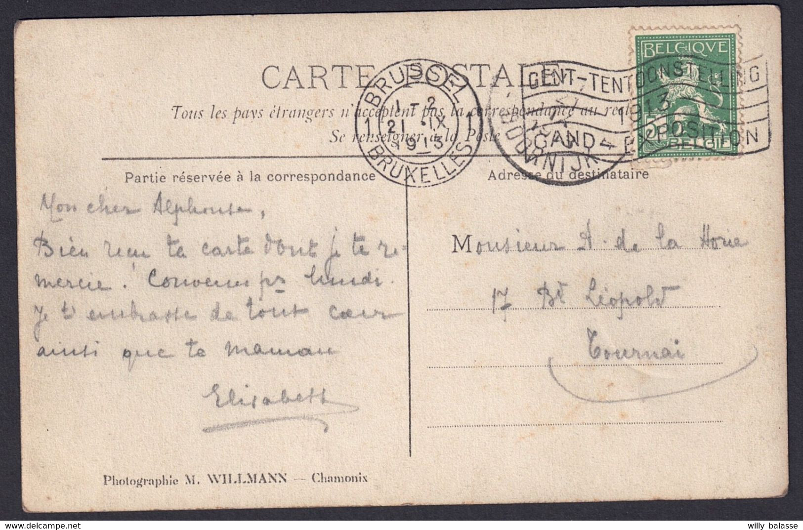 +++ Photo Carte - Sports D'Hiver CHAMONIX - 1913 -Championnat De France + Aviatrice Marie MARVINGT - 3/4  // - Winter Sports