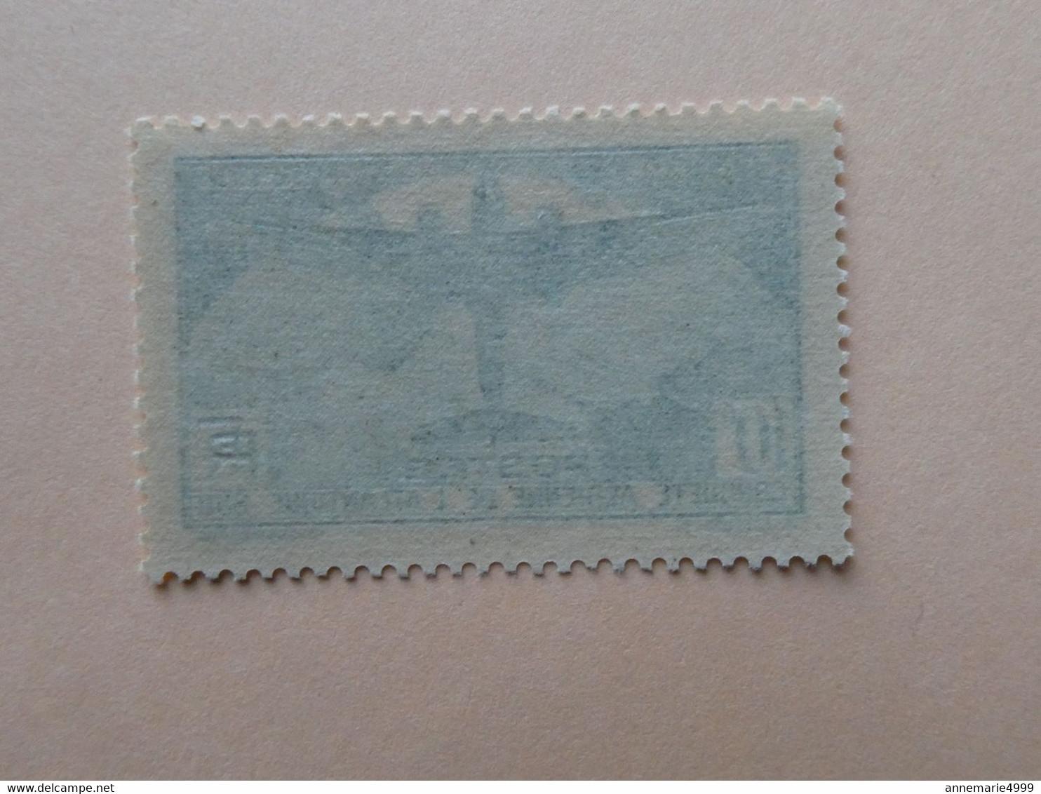 FRANCE 10 Francs TRAVERSEE DE L'ATLANTIQUE  N° 321 Neufs Sans Charnière Cote 800 € Voir Scans - Unused Stamps