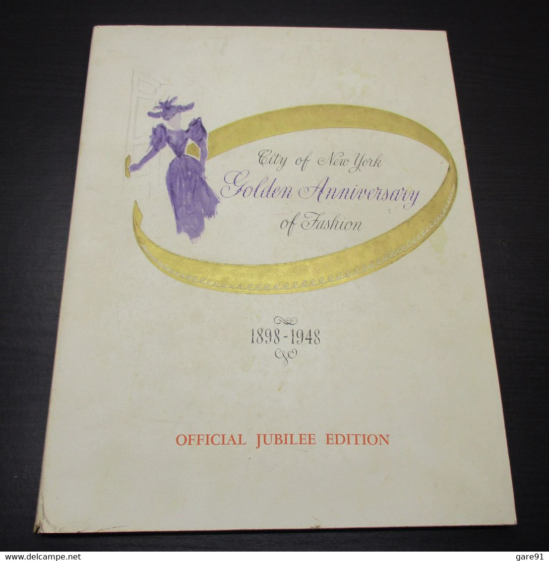 Golden Anniversary Of Fashion City Of New York  1898 - 1948 - Other