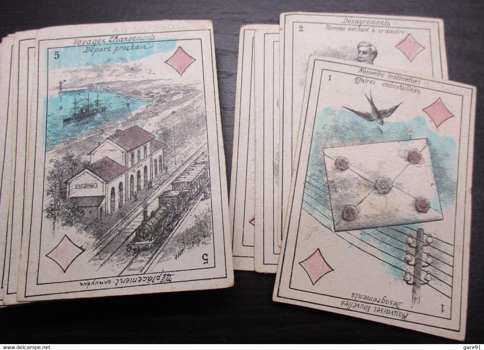 Ancien Jeu De Cartes Divinatoire Oracle - Unclassified