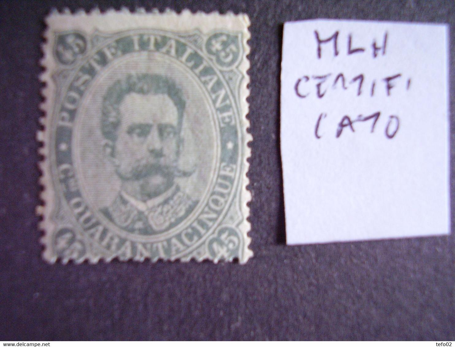 Umberto I. Collezione Completa **/* Con Ripetizioni E Varietà - Mint/hinged