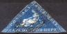 CAPE OF GOOD HOPE 1853 Wmk Anchor - Mi.2 Iwa (Yv.2, Sc.2b) Good Cond - Cape Of Good Hope (1853-1904)