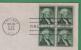 Art Craft First Day Cover - 1c George Washington - Scott #1031 - Block Of 4 [#2228] - 1951-1960