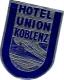 10 Hotel Labels , Etiketten  GERmany Duitsland Allemagne Garmisch Hannover Jutebor- Karlsruhe Dusseldorf Koblenz Hamm - Hotel Labels