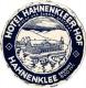 10 Hotel Labels GERMANY Duitsland Allemagne  Hattenheim Hamburg Harz Godesberg Hahnenklee Heidelberg Homburg Berlin - Hotel Labels