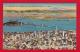 CA53  Aerial View, San Francisco and San Francisco-Oakland Bay Bridge, San Francisco, California, CA, Vintage Postcard.