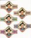 Serie sigarenbanden groot formaat   MELIOR    Ernest Tinchant