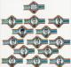 Serie 14  sigarenbanden   Cara�be   KSV  TEMSE  1965-66   Voetbal
