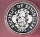 SEYCHELLES 25 RUPEES 1995  OLYMPIC GAMES 1996 SILVER PROOF SAILING - Seychelles