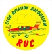 Autocollant Sticker / Club Aviation BAFOUSSAM / Avion de tourisme  // ADH 21/4