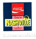 Autocollant Sticker / Publicit� Coca-cola - Ticket to Nashville with Lucky Blondo to Elvis  // ADH 21/4