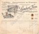 62 180 HYDREQUENT RINXENT PAS DE CALAIS 1906 Exploitation de Marbres LAMBERT FRERES - Pierres de taille  SCIERIE MARBRE