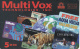 USA - Multi Vox TEchnologies, C& W promotion prepaid card, exp.date 31/10/98, used