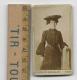 Petite Photographie D'une Femme élégante-photographie Marseillaise à Tarbes - Alte (vor 1900)