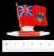 Plaque m�tal Biscuit L'alsacienne drapeau Canada - Flag   // IM 01/MET-1