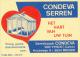 PUBLIBEL 2665°: (CONDEVA SERREN) : TUIN,JARDIN,GARDEN,SERRE, GREENHOUSE, - Publibels