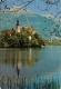 Bled, Slovenia Postcard Posted 1972 Stamp - Slovenia