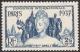 French India, 2 Fa. 12 Ca. 1937, Sc # 109, MH. - India (1892-1954)