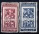 Vaticano 1951 Graziano Sass. A20/21 **/MNH VF<br><strong>115.00 EUR</strong>