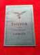 Soldbuch Personalausweis Luftwaffe Major 1939&amp;hellip;<br><strong>55.55 EUR</strong>