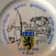ASSIETTE COMPAGNIE STE-AGATHE BOUQUET PROBINCIAL CREPY-EN-VALOIS 1876-1976 6 JUIN /RICHARD GINORIL 3 ITALY CECOR PRAQUIN - Ginori (ITA)
