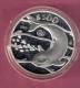 MEXICO 100 PESOS 1992 PROOF SILVER 1 OZ. KM566 SWIMMING PURPOISE