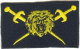 EPMS Insigne brod� jaune Entra�neur physique militaire et sportif NEUF